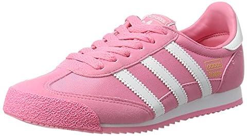 adidas Dragon OG, Baskets Basses Fille, Rose (Easy Pink/Ftwr White/Easy Pink), 37 1/3 EU