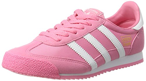adidas Girls' Dragon OG Trainers, Pink (Easy Pink/Ftwr White/Easy Pink), 5.5 UK...
