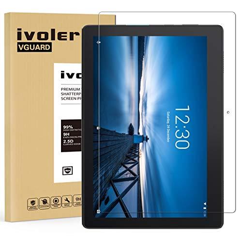pellicola tablet 10.1 lenovo VGUARD Pellicola Vetro Temperato per Lenovo Tab E10 10.1 Pollici
