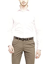 Stop by Shoppers Stop Mens Slim Collar Solid Shirt