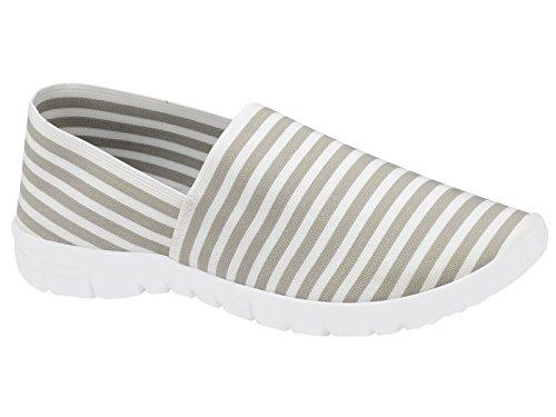 Generic, Sneaker donna Grey/White