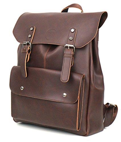 Backpack Rucksack für Damen und Herren von BEN HAYLEN, City Rucksack, Laptop Rucksack, Rucksack Business in braun