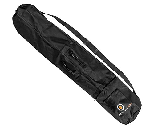 Protector Tech Sac de rangement pour détecteur de métaux microphone ou support d'enceinte 125 cm long