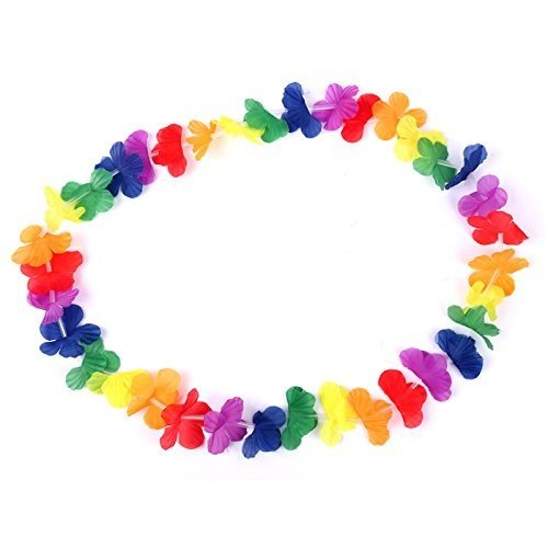 s-o-flower-garlands-bright-plain-coloured-flower-petals-hawaiian-lei-flower-garland-pack-of-hawaiian