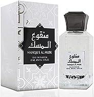 manqu'e al musk By Lattafa for Unisex - Eau de Parfum, 1