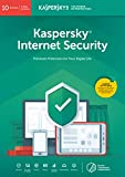 Kaspersky Internet Security 2019 | 10 Devices | 1 Year | PC/Mac/Android | Online Code