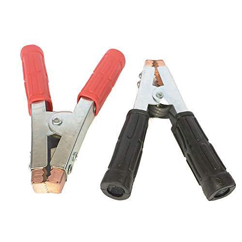 Krokodilklemmen, robust, Kupferbatterie-Test, Krokodilklemmen, 2 Stück