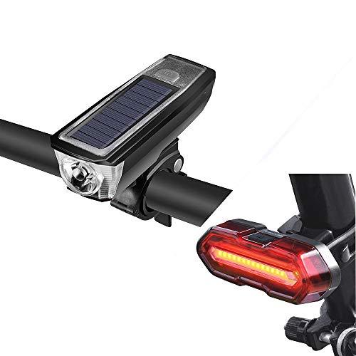 DETALLES DEL PRODUCTO:Marca: ROCKBROSTipo: Luz de campana solarMaterial: plástico de ingenieríaPeso: alrededor de 118 gTamaño: alrededor de 107 mm * 40 mm * 35 mmBatería: 2000 mAhCarga: USB recargable / panel solarCampana: 120 dBLuz: 350LmTiempo de e...