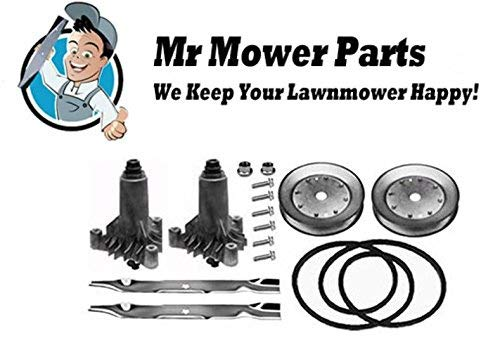 "Mr Mower Part AYP 42"" Deck Rebuild Kit for Sears Craftsman Lawn Mowers Short Belt preisvergleich"