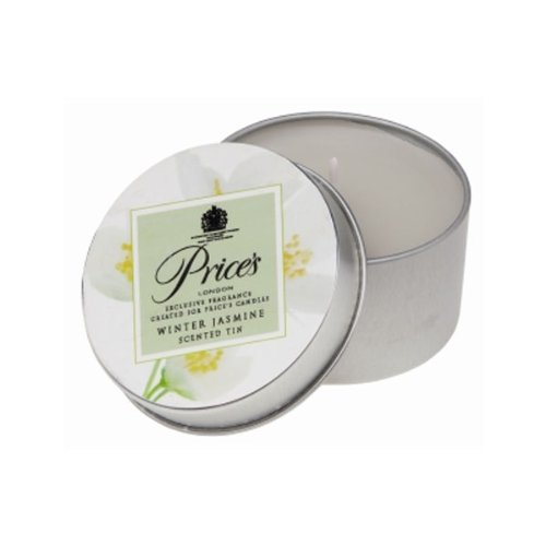 Prices Patent Candles Bougie d'hiver Parfumée Jasmin