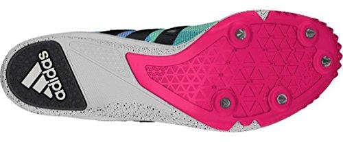 adidas Distancestar W, Chaussures de Running Femme Noir (Negbas / Ftwbla / Rosimp)