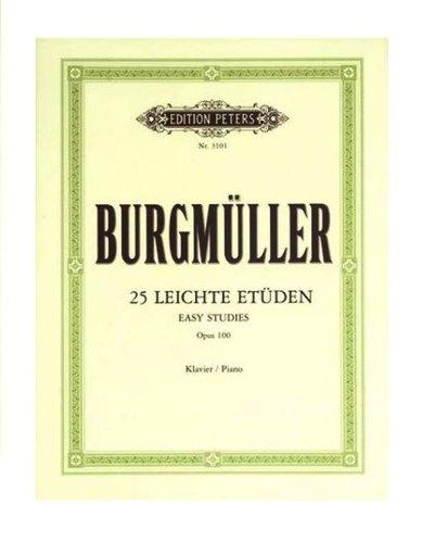 BURGMULLER - 25 Lichte Etuden - Easy Studies - OP 10 - Piano