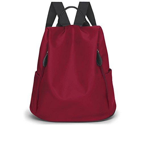 LAIDAYE Frau Schulter Reisetasche Red