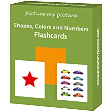 Shapes Colors and Numbers Flash Cards