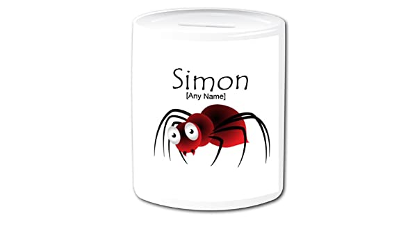 Personalised Money Box Animal Insect Design Spider Money Box A Gopersonalised Design Any Name Message A Perfect Gift Idea For Birthdays Christmas Father S Day Mother S Day And All
