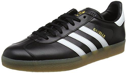 Adidas Herren Gazelle Sneaker , Schwarz (Core Black) , 46 2/3 - Adidas Gazelle Hellblau