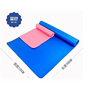 Shi18Sport Verbreiterung 120 cm Yogamatte Extra Lang Yogamatte Multifunktionale Sport Mat