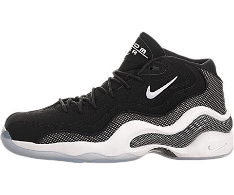 Air Zoom Flight 96 Noir Basketball / blanc chaussures 8,5-nous