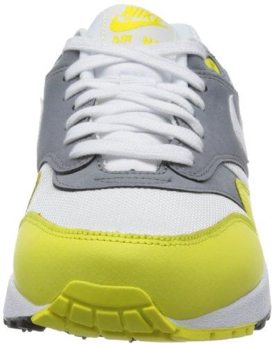 Nike - Nike Air Max 1 Premium, Green, Sneakers a collo basso da uomo Bianco (Weiß (White/Geyser Grey-Lab Green))