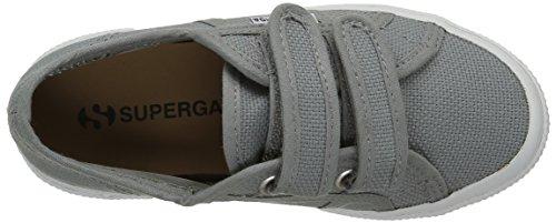 Superga 2750 Jvel Classic, Sneakers Basses mixte enfant Gris (Gray Dk Sage)