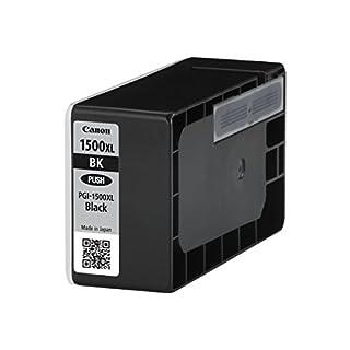 Canon PGI-1500XL original Tintenpatrone (XL für Maxify Drucker MB2050-MB2150-MB2155-MB2350-MB2750-MB2755) schwarz