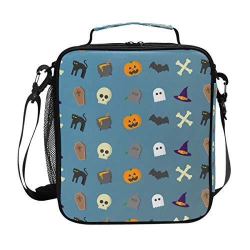 Schultertasche Handtasche für Herren \u0026 Damen Halloween ()