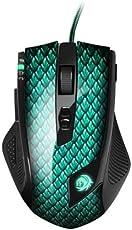 Sharkoon Drakonia Gaming Laser Maus 5000 dpi (11 Tasten) grün