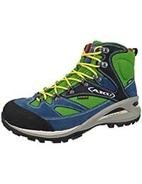 AKU senderismo Zapatos de trekking 342-001 Transalpina GTX hombres Multicolor Verde