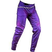 Nologo - Pantalón compacto para BMX/DH, talla 22 a 36 adulto, color morado, tamaño 28youth
