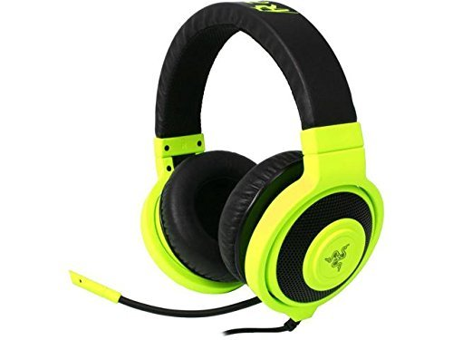 Razer Kraken Pro Over Ear PC Gaming and Music Headset - Neon Yellow  available at amazon for Rs.17045