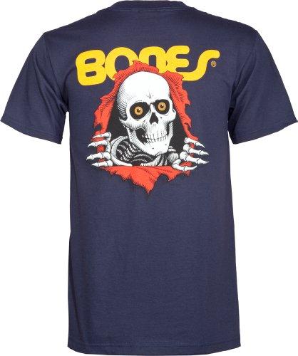 Herren T-Shirt Powell Peralta Ripper T-Shirt Navy