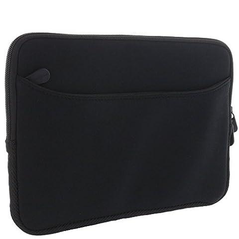 XiRRiX Premium Laptoptasche Neopren 11 11,6 12 Zoll (28 30 32 cm) Laptop 2in1 Notebook - Notebookhülle mit Zubehörfach - Tasche
