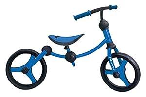 Fisher-Price Fp1050033-Bicicleta sin Pedales para niños 2 En 1, Color Azul