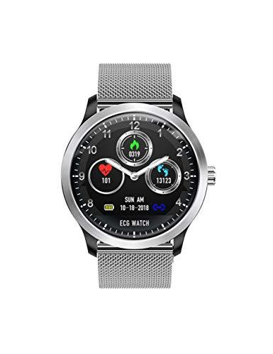 DZKQ Smartwatch Mit Elektrokardiograph EKG-Anzeige EKG-Herzfrequenz-Messgerät Blutdruck Smartwatch