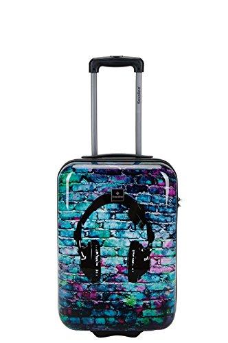 Saxoline Koffer Headphone ABS-PC Handgepäck-Trolley Größe S 1389C0. 49. 09 (direkt vom Hersteller)
