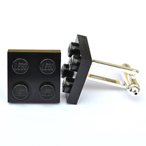 Gemelos-con-forma-de-ladrillo-de-Lego-negro