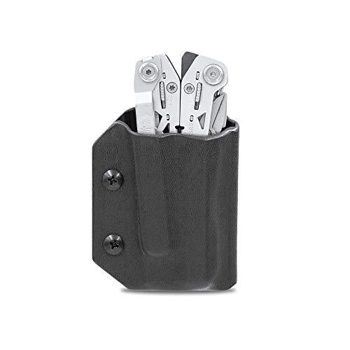 Kydex Multitool Scheide für Gerber SUSPENSION NXT - Made in USA - Multi Tool Etui Halter Cover Gürteltasche Holster - Multitool nicht im Lieferumfang enthalten, schwarz