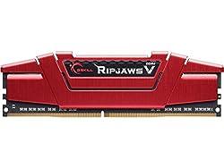 G.SKILL Ripjaws V DDR4 8GB (8 GB x 1)2400 Mhz Desktop Memory RAM F4-2400C17S-8GVR