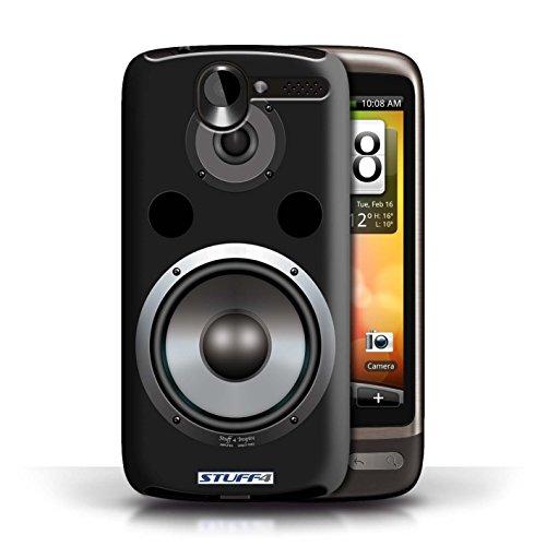 Kobalt® Imprimé Etui / Coque pour HTC Desire G7 / Moniteur Studio conception / Série Haut-Parleur dessin Hifi