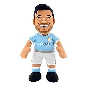 "Bleacher Creatures bc10replsa/Mac (""Manchester City FC Sergio Aguero Bleacher criatura"" peluche figura"