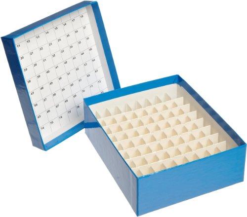CryoELITE W651604 Cryofile-Gefrierbox, Blau (15-er Pack)