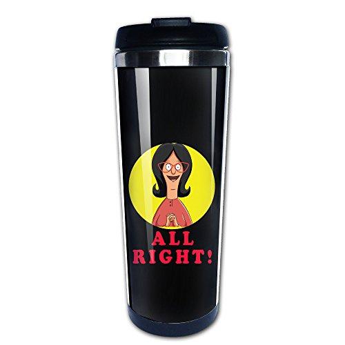 Right. Reise Tassen, Edelstahl Kaffee Tasse (Bob's Burgers Kostüm Louise)