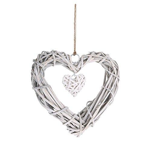 Geflochtenen Herz Anhänger Hochzeit Dekor
