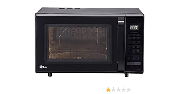 lg 28 l convection microwave oven mc2846blt black amazonin home u0026 kitchen