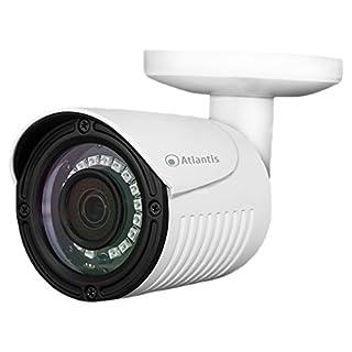 Atlantis Land AHD-821B IP-Sicherheitskamera Outdoor Geschoss Weiß 1920 x 1080Pixel - Sicherheitskameras (IP-Sicherheitskamera, Outdoor, Geschoss, Weiß, Zimmerdecke, Metall)