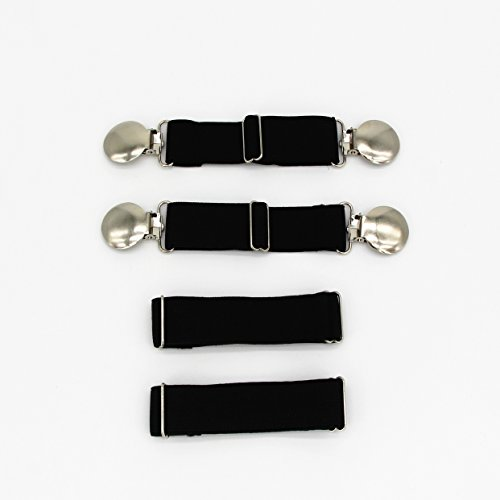 adjustable-elastic-boot-straps-pant-clips-heavy-sturdy-clips-stirrups-leg-straps-keeping-your-pants-