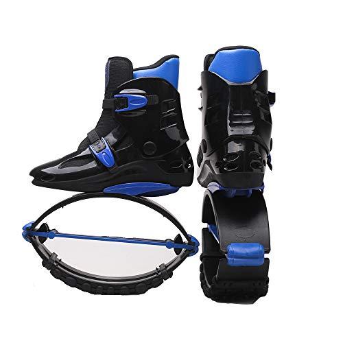 LOVEHOUGE Ragazzi Ragazzi Ragazze Stivali da Corsa Anti-gravità Scarpe da Salto con Scarpe Bounce,4,39~41(70~90KG)