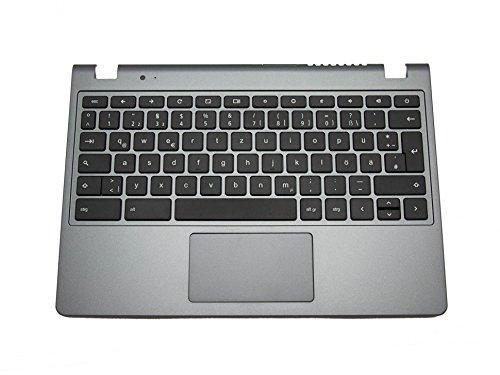 Chromebook Notebook Acer C720 (Tastatur, deutsch (DE) + Topcase 60.SHEN7.007 für Acer AC720 Chromebook / AC720P Chromebook / C720 Chromebook / C720P Chromebook)