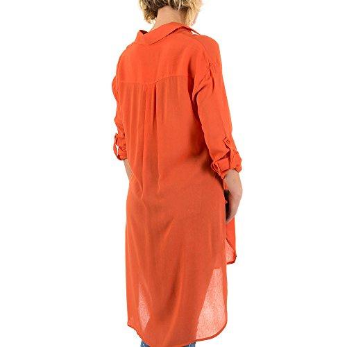 iTaL-dESiGn - Chemisier - Femme Orange