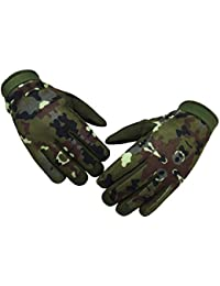 Tactical Mechanic Waterproof Hunting, Race, Full Finger Glove (Small)